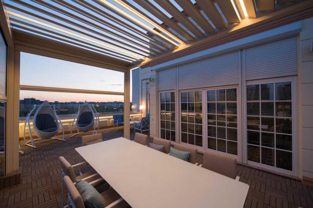 Vérandas pour balcons et terrasses avec lesquelles créer ...
